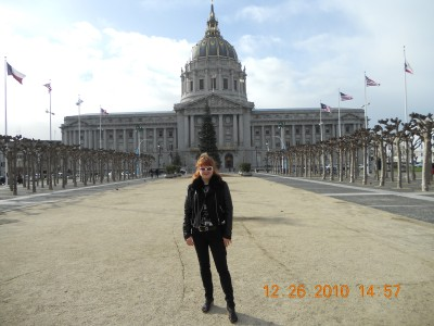 Jennie Clark at Courthouse in San Francisco